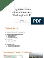 Organizaciones Internacionales en Washington DC