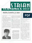 Austrian Economics Newsletter Winter 1997