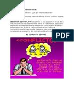 Actividad sobre el Conflicto