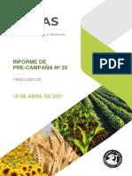 Informe PreCampaña Trigo 2021-22