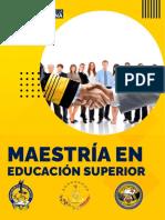 BROCHURE MESTRÍA EDUCACIÓN SUPERIOR (1)