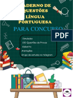 Questões de Língua Portuguesa 50 00