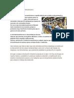 Definición de Industria Manufacturera