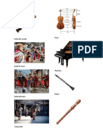 Chirimia, bailes, clarinete, piano