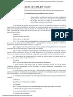 INSTRUÇÃO NORMATIVA Nº 73, DE 5 DE AGOSTO DE 2020