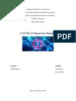 analisis  de la pandemia del COVID