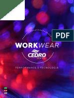 Catalogo tejidos CEDRO WORKWEAR