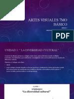 Artes Visuales 7mo Básico diversidad cultural