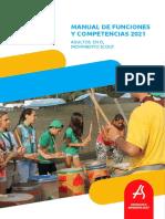 Manual de Funciones y Competencias 2021
