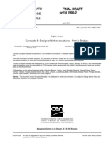 - Eurocode 5 - prEN 1995-2 (2004 Abr)