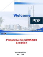 Perspective on cdma2000 evolution (ZTE Corporation)