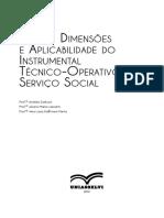 Ações, Dimensões e Aplicabilidade do Instrumental Técnico-operativo do Serviço Social (1)