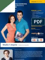 Informator 2011 - Studia I stopnia - Wyższa Szkoła Bankowa Poznaniu Wydział Ekonomiczny w Szczecinie