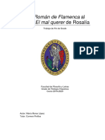 Del roman de flamenca a rosalía TESIS María Marco López