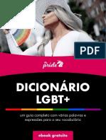 Dicionario Lgbt the Pride