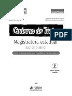 PÁGINAS CADERNO DE TREINO - MAGISTRATURA ESTADUAL - 2021