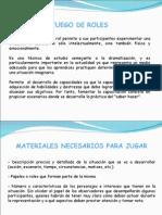 JUEGO DE ROLES