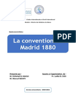 La conventionde Madrid 1880 (Version finale)