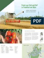 Direktvermarkter Frankfurt Broschüre