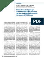 Schulz2009_Article_BehandlungDerDysphagieInEinemK