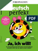 Deutsch Perfekt - 01 2021