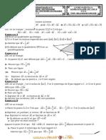 Série d'exercices - Math VECTEURS - 1ère AS  (2011-2012) Mr BELLASSOUED MOHAMED