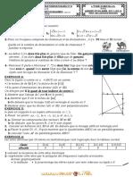 Devoir de Maison N°3 - Math - 1ère AS  (2011-2012) Mr BELLASSOUED MOHAMED