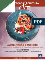Alimentação, cultura e turismo