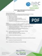 Sectorización de Redes de Agua Potable Aplicando WaterGEMS Bajo La Plataforma ArcGIS.