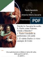 Paolo e Antonio Maria Zaccaria x Cristobal Avalos