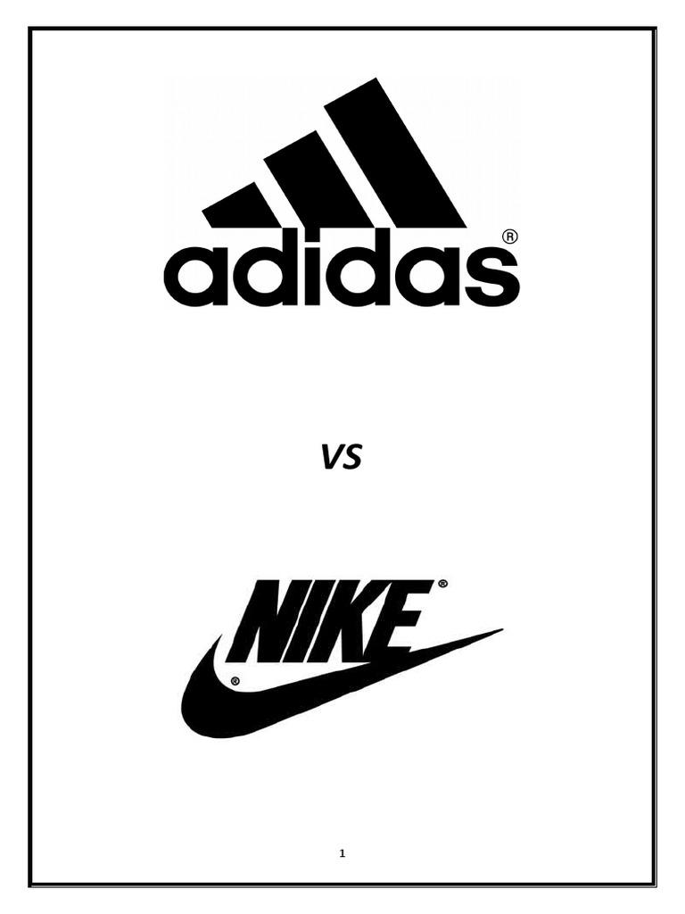 29013150 Nike Vs Adidas Adidas Nike