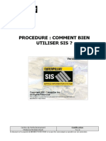 711 S - Procédure SIS