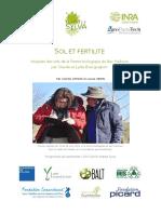 Avril 2016 Analyses de Sol de La Ferme Du Bec Hellouin Bourguignon