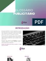 GLOSSÁRIO PUBLICIDADE