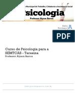 Revisão Concurso de Psicologia Prefeitura de Teresina 2016