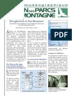 Journal Expo Glaciers Et Des Hommes