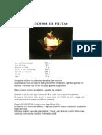 MOUSSE  DE  FRUTAS