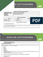 Guía de actividades Gerencia Estratégica Corte 1