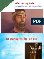 LA TRANSGRESION DE SAUL