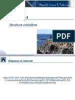 21 - Strutture Cristalline SI