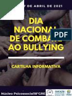Cartilha Bullying Virtual -18°GRE