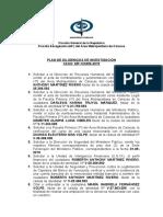PLAN DE TRABAJO (Criminología)