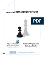 Strategic Management Retreat Proposal