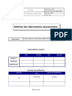 Procedure maitrise des informations documentées