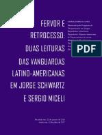 Fevor e Retrocesso Duas Leituras Das Vanguardas