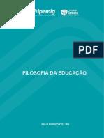 APOSTILA COMPLETA - FILOSOFIA DA EDUCAÇÃO