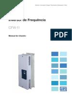 WEG Cfw 11 Manual Do Usuario Mec. f e g 10000694773 Manual Portugues Br