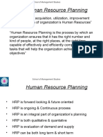 IHR Planning