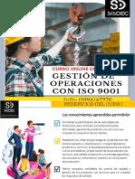 Brochure Curso-Taller Gestión de Operaciones ISO 9001 Alm