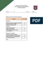 Rúbrica de EvaluaciónSeminario